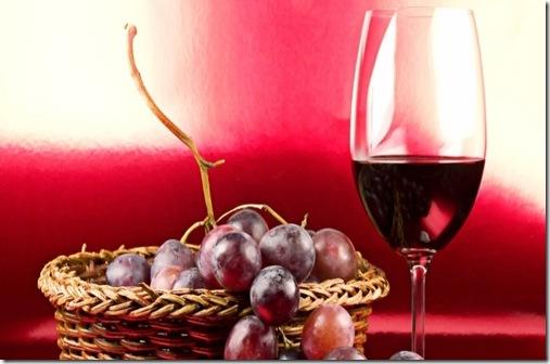 vinho em taça