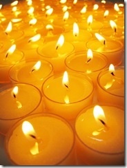 candles multitude
