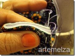 artemelza - bolsa de feltro duplo-9