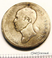Afb. 8 25 cents 1848