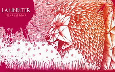 Game of Thrones House Lannister by O'lee Graphiste