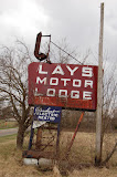 """Lays Motor Lodge"" - copyright David J. Thompson"