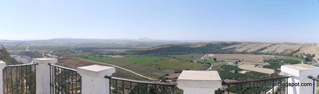 view from Arcos de la Frontera