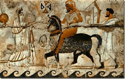 Pintura Paestum