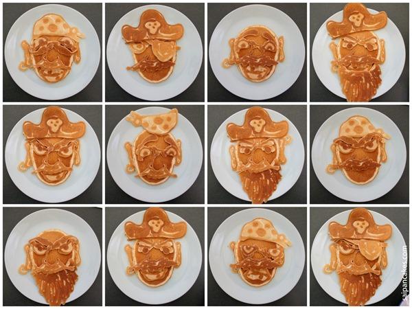 Pirate pancakes
