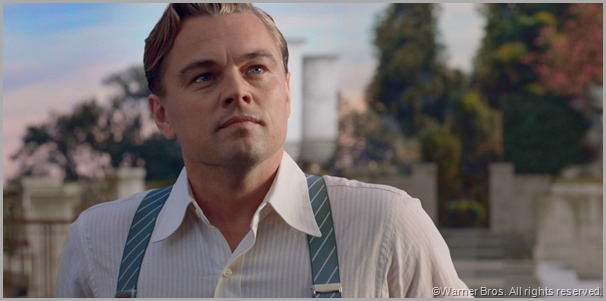 Leonardo DiCaprio as Jay Gatsby. CLICK to visit the official site for THE GREAT GATSBY movie.