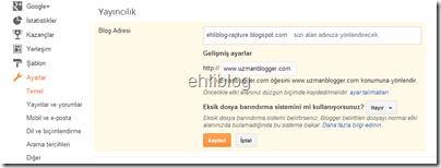 godaddy-blogger-ayarlari