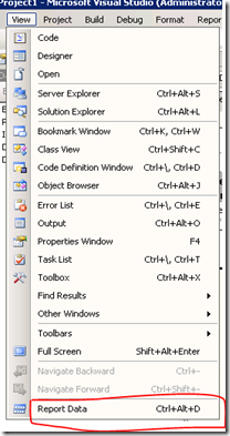 5. View DataSet and DataSource in SSRS