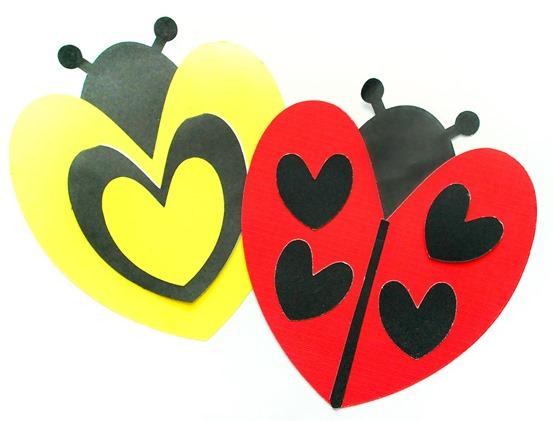 Ladybug and Bee Valentines