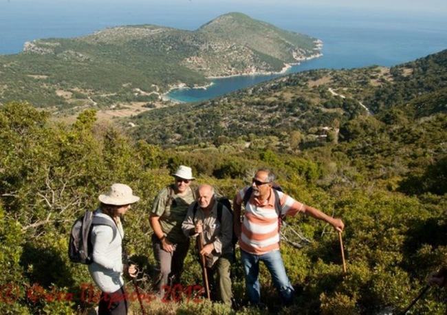 Τη διαδρομή Αθέρας – Αμίδι έκανε ο ορειβατικός σύλλογος Κεφαλονιάς
