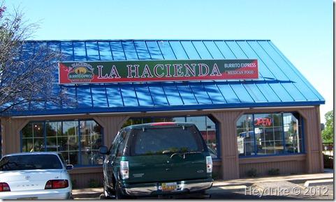 La Hacienda Burrito Express