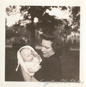 Dorothy and Dennis John 1947 two DL