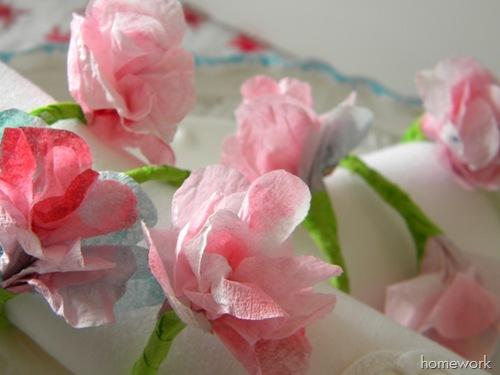 celebrations spring napkin rings