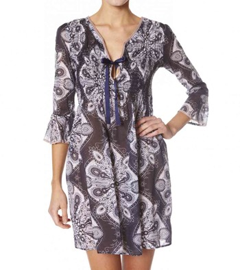 #261c Topping short dress lite almost black