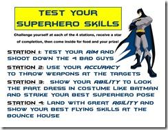 superhero skills