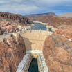 View of Hoover Dam from Bypass Bridge