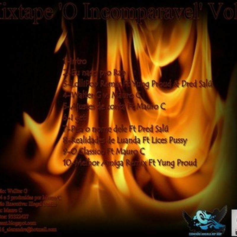 "Walter G - Mixtape ""O Incomparável Vol.1"" [Download Gratuito]"