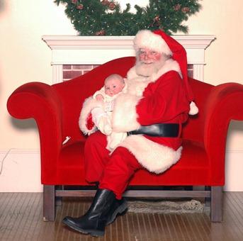 john & Santa