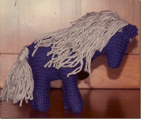 Knitted Pony - 3
