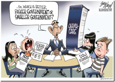 Gary Varvel: Bigger Government Question