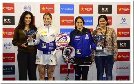 Iciar Montes y Alejandra Salazar vencieron por 6/4, 4/6 y 6/4 a las flamantes número 1, Elizabeth Amatriain y Patricia Llaguno