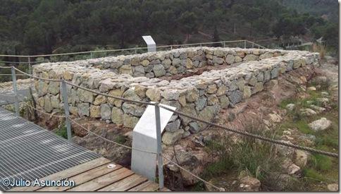 Templo de Demeter - Santuario ibero de la Luz
