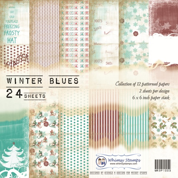 Winter Blues Front Sheet