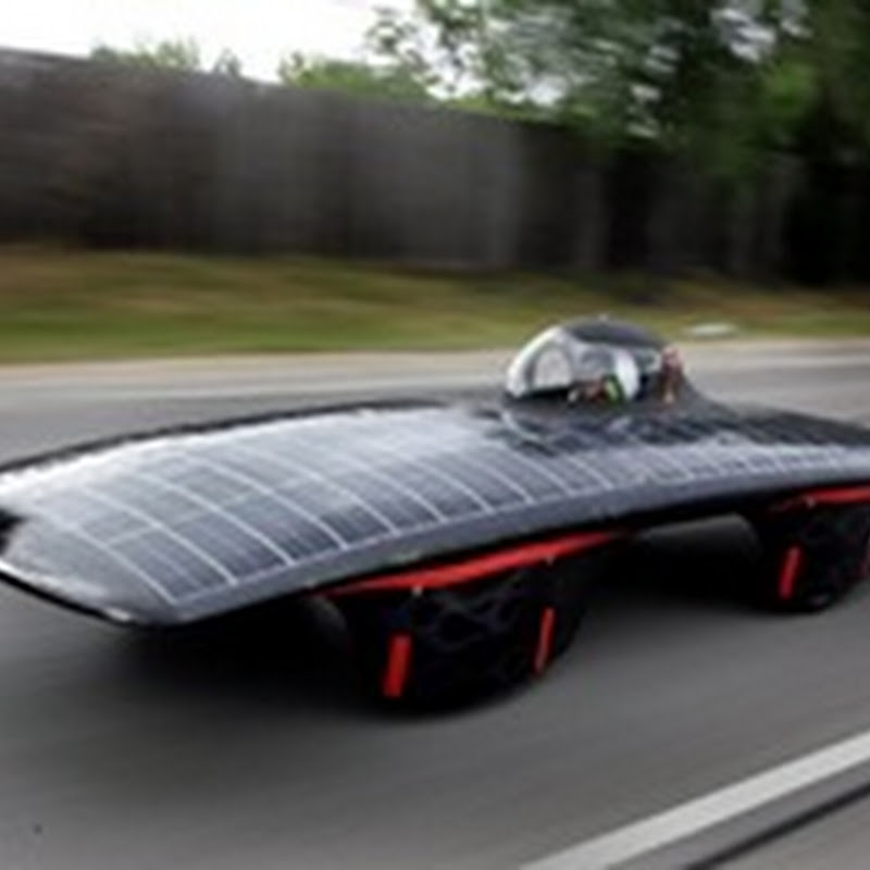 Los mejores modelos de autos solares
