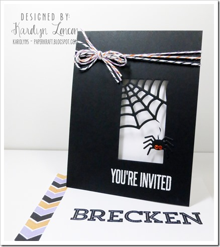 MFT Halloween Party Ensemble Invitation