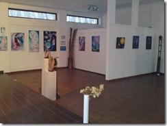 Expozitia Univers Eminescian organizata de Asociatia Artistilor Plastici din Bucuresti in Herastrau