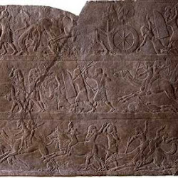 23.- Palacio de Ninive.Relieve s de la reina Sennacherib