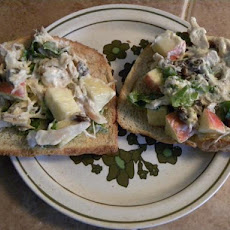 Copycat Subway® Orchard Chicken Salad Sub