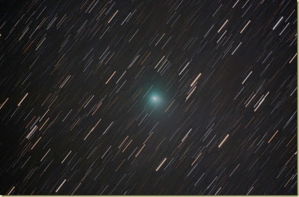 31 Aug 2014 Jaques stacked on Comet 2 min