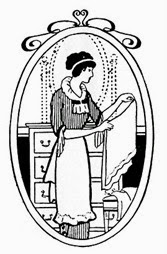 housekeeping vintage image graphicsfairy6
