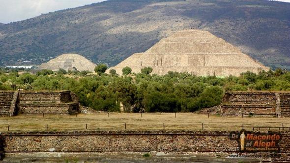 Piramides Teotihuacán México 5