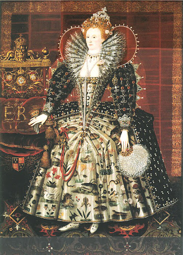 queen elizabeth first castle. c1592, Queen Elizabeth I