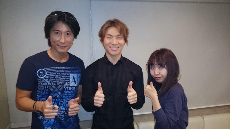 Dae Sung - FM Fuji Sunday in the Park - 19oct2014.jpg