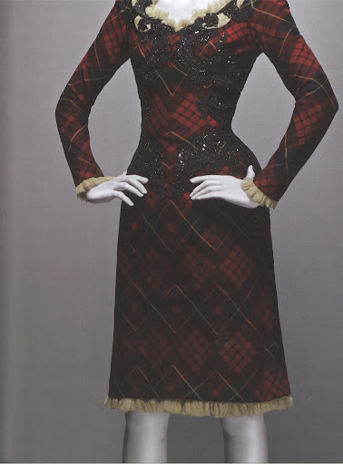 McQueen's Scottish heritage inspired an entire collection of work. When asked about the traditional garments, he said,