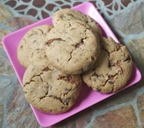 Triple Chunk Candy Cookies