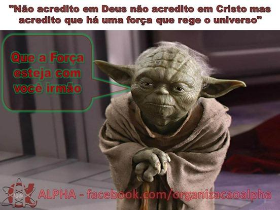 Star Wars Bíblia Mestre YODA ALPHA