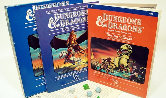 dungeons dragons rpg