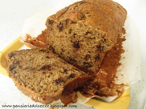 Zucchini Chocolate Bread 2