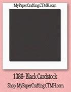 black cardstock-200