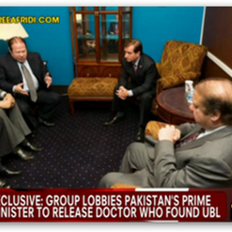 Update on D.r Afridi, Who Helped US Capture Bin Laden, Pakistani Premier Pledges to Reconsider Case As The Doctor Is Still Incarcerated