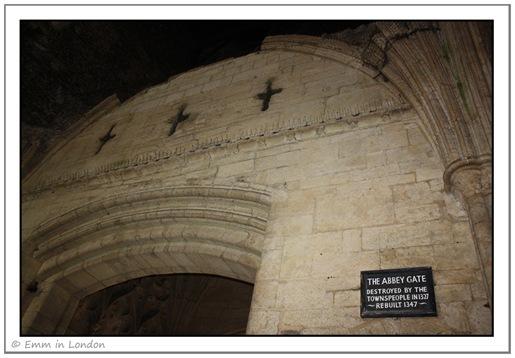Inside Abbey Gate - Bury St Edmunds