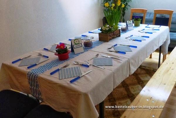 Gedeckter Tisch-fertig