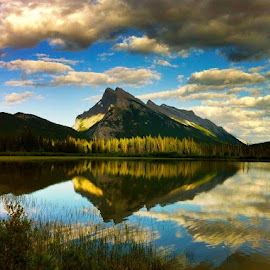 Banff, Canada by Tyrell Heaton - Landscapes Mountains & Hills ( canada, banff )
