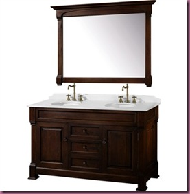 Traditional-Bathroom-Double-Vanity-Set