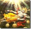 [Vishnu creating]