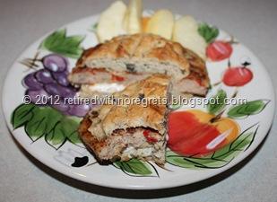 Gluten Free Savory Yeast Bread - Served